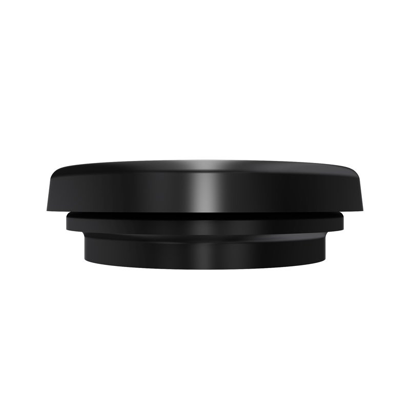 Abrams 2.5 Round Black Rubber Grommet for Universal 2.5 Inch Round Side Marker Clearance Lights for RV Trucks /& Trailers