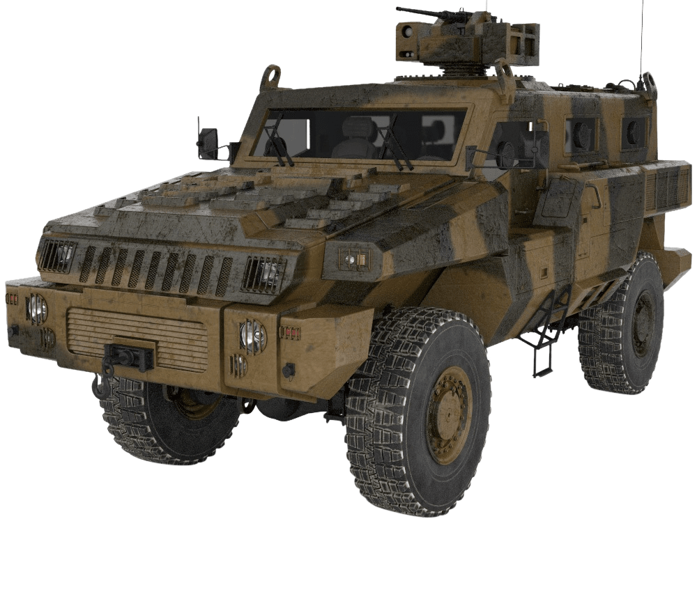 Mine-Protected Vehicles